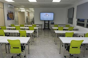 Sala de formación TAME