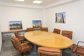 Sala de reuniones grup empresarial