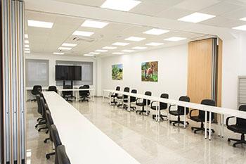 Sala formación grup empresarial camp de Túria
