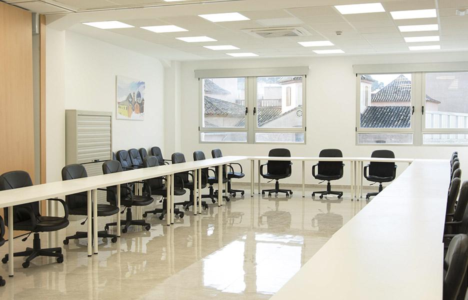Sala formaciones grup empresarial